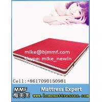 China Luxury bedroom set Euro-top compressed spring mattress on sale
