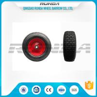 "China Pneumatic Heavy Duty Rubber Wheels 16"" , Replacement Trolley Wheels Anti Skidding wholesale"
