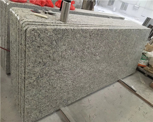 Quality Brazil Butterfly Yellow Granite Stone Floor Tiles Exterior Wall Cladding for sale