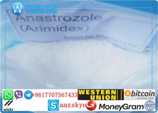 Quality Polvo esteroide crudo CAS 120511-73-1 de Anastrozole para anticáncer con entrega rápida for sale