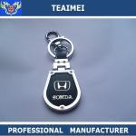 China Metal Black Key Ring Holder Leather Key Case Holder Fashionable wholesale