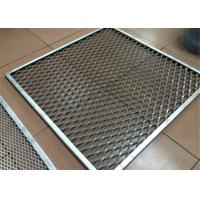 China Aluminum Metal Mesh Ceiling Panel Akzo Nobel Powder Coating Aluminium Security Mesh wholesale