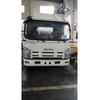 Reliable Waste Water Truck , Sewage Collection Truck 0.25 - 0.35 Mpa Pressure