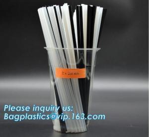 China PLA Straws, disposable biodegradable PLA straw Individual Packed 100% Biodegradable PLA Straws,Compostable Biodegradable wholesale