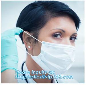 China 3 Ply Dental Medical Procedure Non-woven Disposable Face Mask,earloop medical grade 3layer medical earloop face mask wholesale