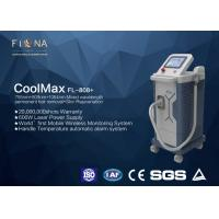 China Apollomed Triple - Wave Diode Laser Hair Removal Machine With Automatic Alarm System wholesale
