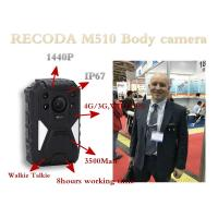 China 4G Bodycamera with GPS function Support LIve checking from PC & Mobile Phone wholesale