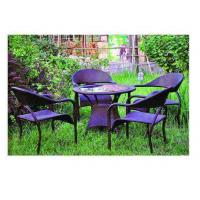 China out door ratten table wholesale