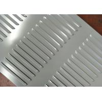 China Easy Installation Perforated Metal Mesh Louvers Hole Type Low Maintenance Cost wholesale