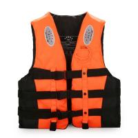 China Customized Sea Life Jackets Orange Color M / L / XL Size Water Resistance wholesale