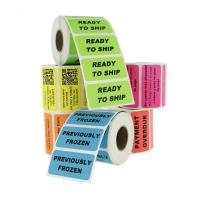China Waterproof Personalized Business Labels / Custom Label Printing Freeze Resistant wholesale