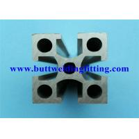 China Extruded Modular Aluminum Profiles Forged Pipe Fittings For Framing System wholesale
