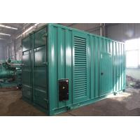 China 800kVA 640kw Electric Silent Diesel Generator Set Strong Power Output Anti Vibration wholesale