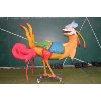 China Animatronic Monster Model 110 / 220V AC Powered With Anti Rust Steel Base on sale