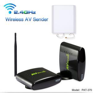 China 500 Meter Transmit Distance Wireless Transmitter Receiver for  CCTV Camera Analog Signal Transmit  with Antenna Box wholesale