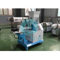 China Automatic Floating Fish Feed Extruder Machine Easy Operation Save Space wholesale