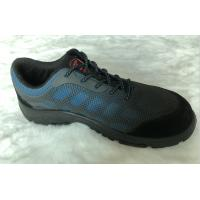 China Light Weight Slip Resistant Work Shoes Breathable / Durable With Steel Toe wholesale