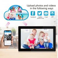 China Programmeable HD IPS screen Cloud Wifi Digital Photo Frame 10 Inch Android 8.1 With Touch Screen on sale