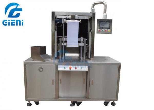 Quality Hydraulic Press Cosmetic Powder Compacting Machine With Touch Screen for sale