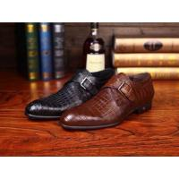 China Italy bought world brand new 2014  designer top men's dress shoes crocodile skin quality on sale