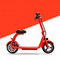 China Water Proof Shock Absorption Smart Foldable Electric Scooter With Elastic Sponge Seat wholesale