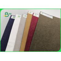 China Wear - Resisting Washable Kraft Paper For Backpack 0.55mm Natually Degradable on sale