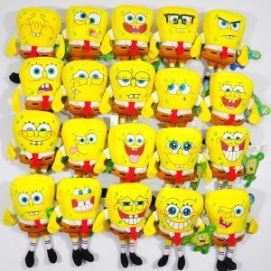 China Fashion Cartoon The SpongeBob 20 Style different expression Plush Stuffed Toys on sale