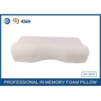 Standard Size Slow Rebound Memory Foam Comfort Curve Pillow With Aloe Vera Pillow Case