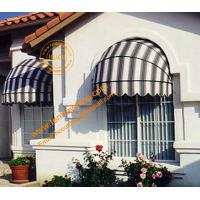 China Ourtdoor Aluminum Manual Retractable  Decorative Dome Window Awning wholesale