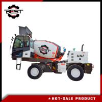 China 3 cubic meters heavy weight self loading concrete mixer truck for sale wholesale