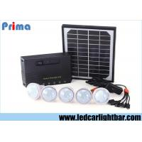 China Energy Saving Indoor Home Solar Panel Led Lights USB Rechargeable Phone wholesale