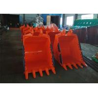 China 1.1 CBM Capacity Excavator Rock Bucket 1200mm Width And 800 Mm Depth wholesale