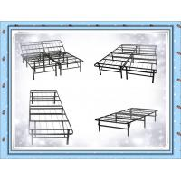 China Foldable Metal Platform Bed Frame and Mattress Foundation - Twin wholesale