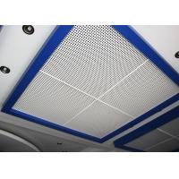 China Perforated Metal Suspended Ceiling Tiles with Sound Insulation on Steel / Aluminum Sheet on sale