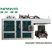 China Sugarcane Disposable Take Away Tableware Pulp Molding Equipment With PLC + Touch Screen + Simens wholesale