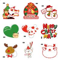 China Christmas Theme Gifts Self Adhesive Sticky Labels Custom Adhesive Labels wholesale