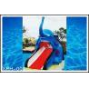 China Cartoon Shaped Fiberglass Water Pool Slides for Mini Kids Water Park wholesale