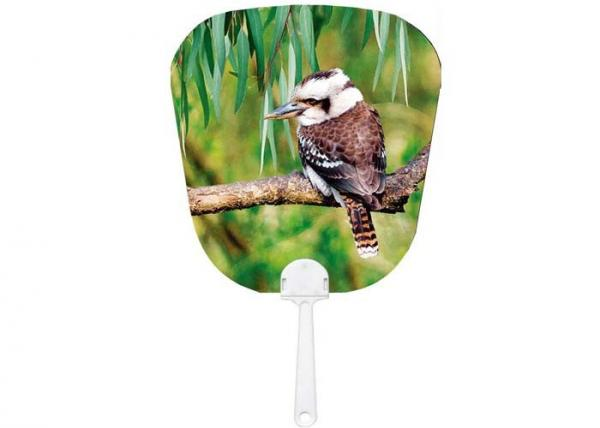 Quality OEM 3D Lenticular Printing Service For Promotional Gift / 3D Lenticular Fan for sale