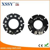 China 12pcs Infrared SMD 2835 LED 850nm 14mil 44mm PCB Board Night Vision with for CCTV Camera wholesale
