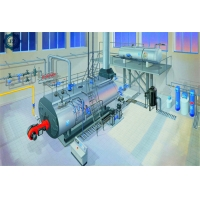 China Industrial Diesel Fired Steam Boiler Manufacturers List For Road And Railway Concrete wholesale