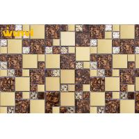 China Glass Mosaic Wall Tile For Living Room Ceiling , Mosaic Laminate Wall Tiles on sale