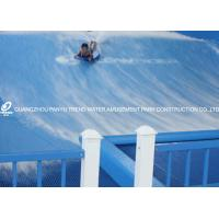 China Flowrider Surf Simulator Water Ride , Extreme Sport Fun Ride For Water Park on sale