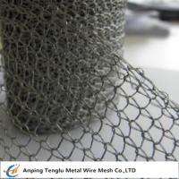 China Stainless Steel Knitted Wire Mesh |Single or Double Wire 1x2mm Hole/0.15mm wholesale