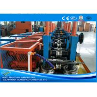 China Cold Rolled Coil SS Tube Mill Machine , Square Tube MillFriction Saw Cutting wholesale