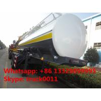 China BPW 2 axles 35,000L fuel tank trailer for sale, hot sale CLW brand 2 axles 35 cubic meters oil tank semitrailer wholesale
