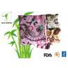 China Flower Charcoal Bamboo Mama Cloth , Comfortable Gentle Bamboo Sanitary Pads wholesale