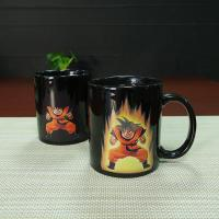 China Heat Sensitive Color Changing Mugs Yellow Goku Dragon Ball Magic Mug Coffee Mug Decoration wholesale