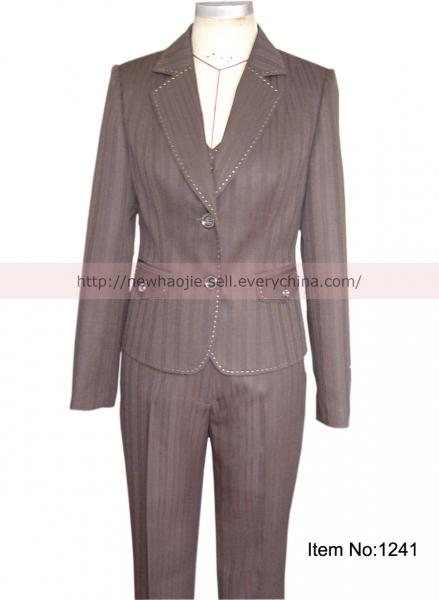 Quality The new elegance ladies formal pant suits for sale