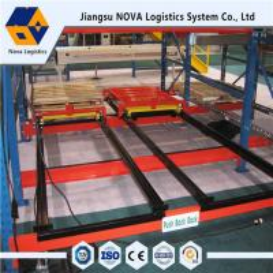 China Customized Push Back Pallet Racking Warehouse Storage Racks Heavy Duty on sale