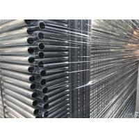 China Hot dipped Galvanized Steel Temporary Fencing Melbourne Market Height 2200mm x 2400mm Width on sale